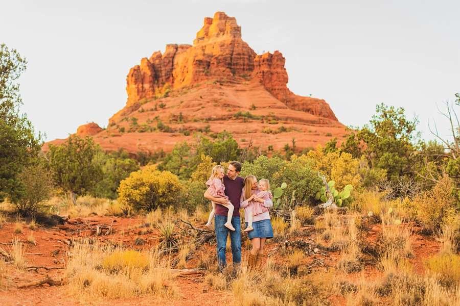 Maclean Family: Destination Photography Arizona Portraits