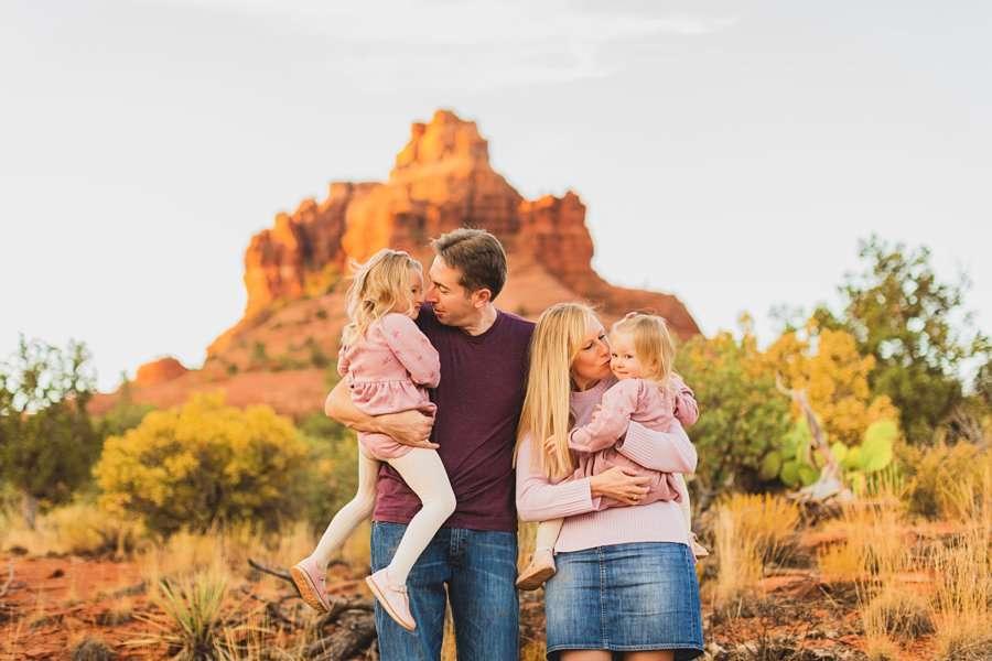 Maclean Family: Family Photographers Sedona AZ snuggles and joy
