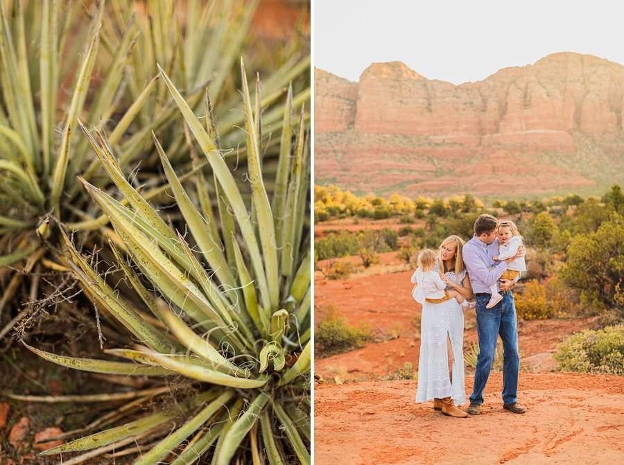 Maclean Family: Family Photographers Sedona AZ the details