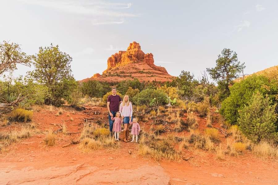 Maclean Family: Destination Photography Arizona Portraits lanscape