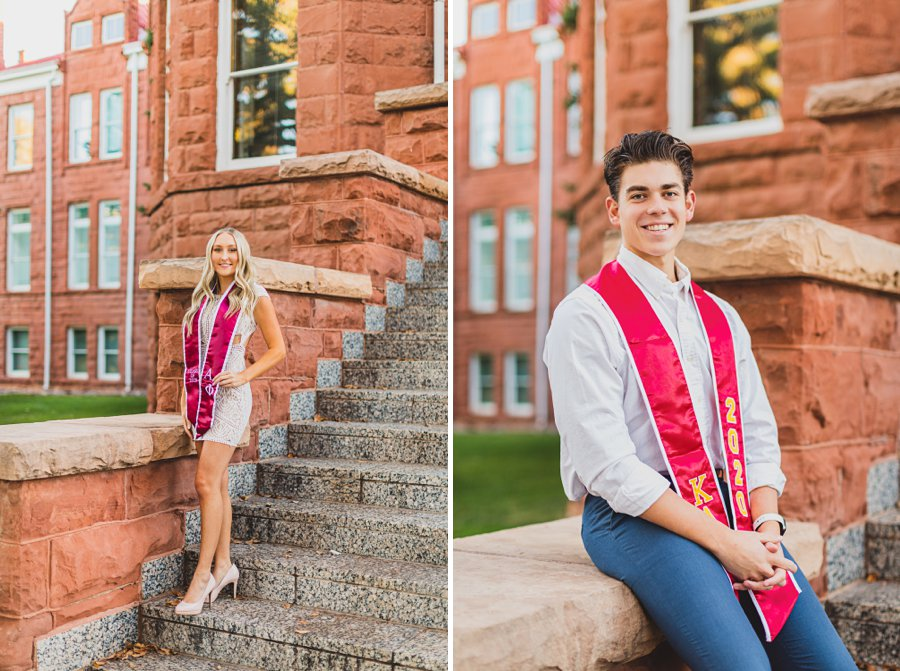 Micaela and Justin: Northern Arizona University Session him and her