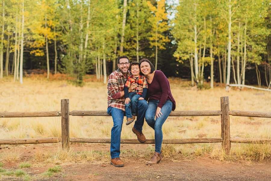 Terbush Family: Aspen Corner Portrait Session best places for family portraits