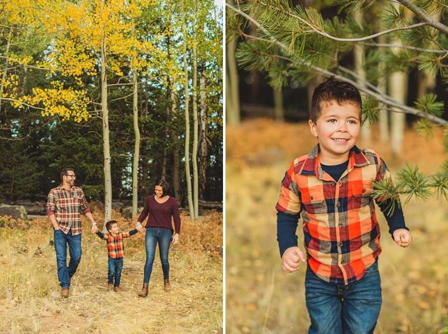 Terbush Family: Flagstaff Autumn Photography little children portraits