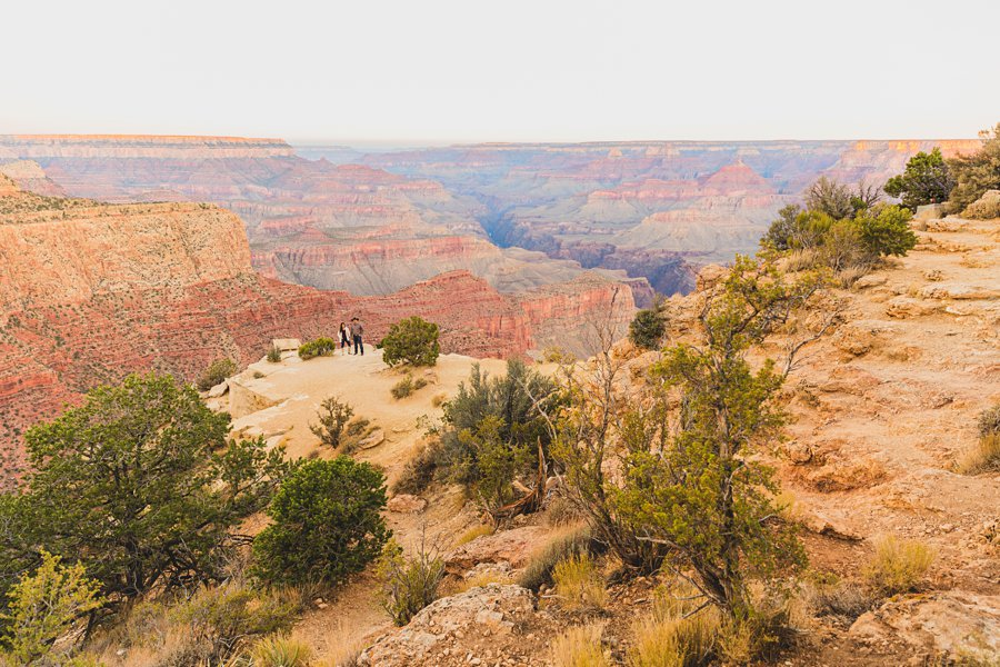 Yesenia and Justin: Grand Canyon Engagement Photographers amazing arizona locations