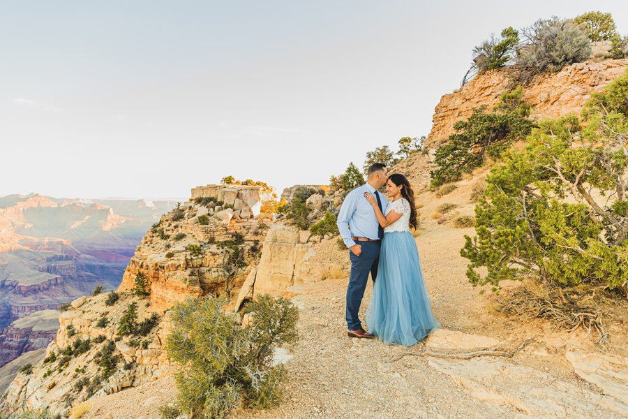 Yesenia and Justin: Northern Arizona Portrait Photography best poses