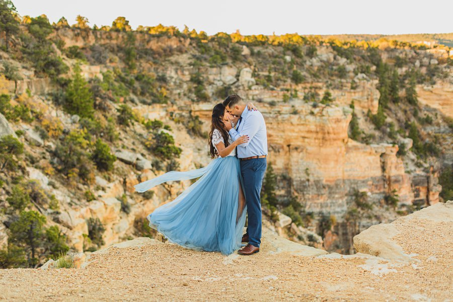 Yesenia and Justin: Northern Arizona Portrait Photography best locations