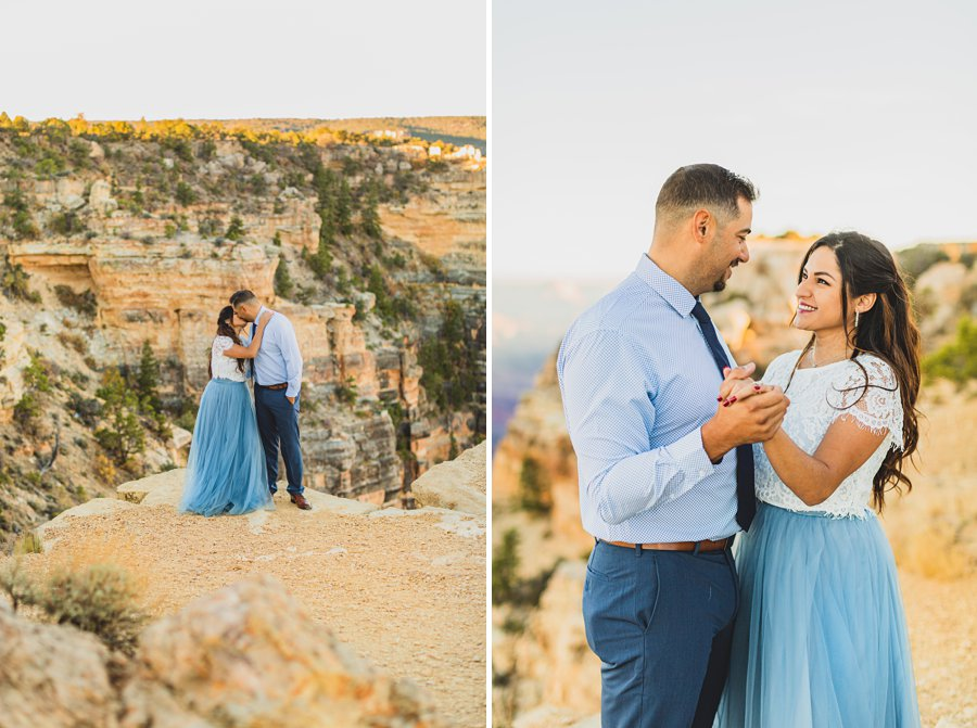 Yesenia and Justin: Northern Arizona Portrait Photography happiness joy