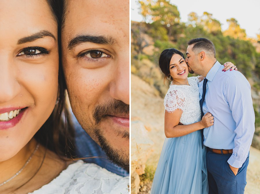 Yesenia and Justin: Northern Arizona Portrait Photography him and her