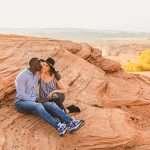 Ashlee and Rodney: Horseshoe Bend Arizona Portraits