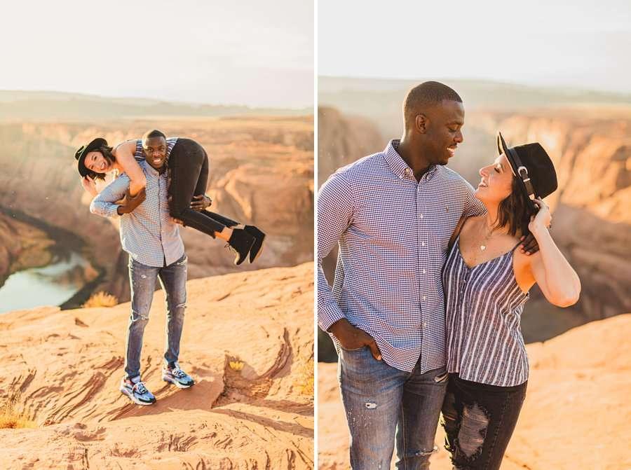 Ashlee and Rodney: AZ Destination Photographers fun