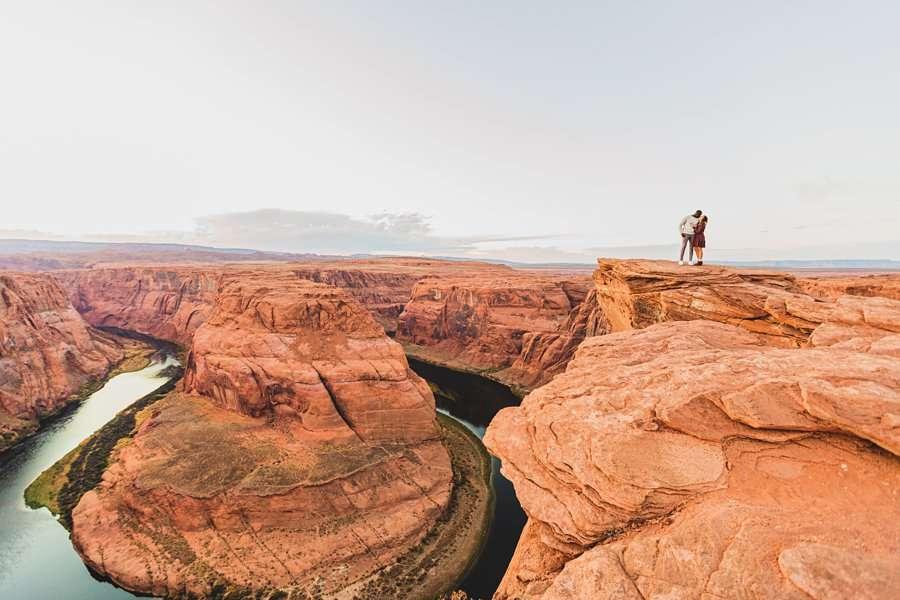 Ashlee and Rodney: AZ Destination Photographers amazing landscapes