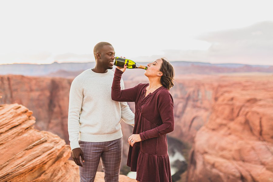 Ashlee and Rodney: AZ Destination Photographers cheers