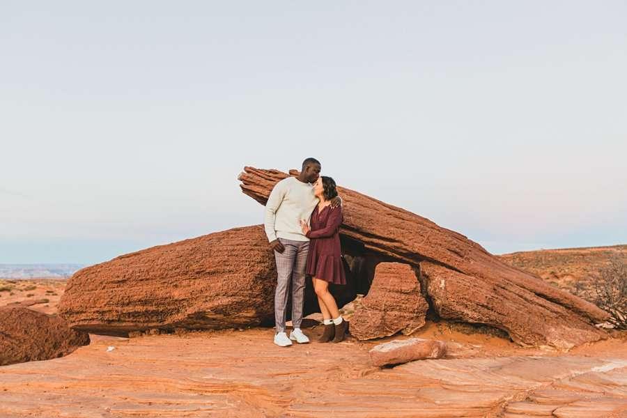 Ashlee and Rodney: AZ Destination Photographers unique backdrops