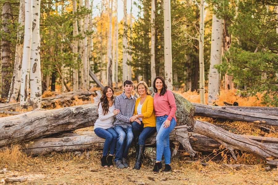 Barrett Family: Aspens Flagstaff Portrait Photographers top rated