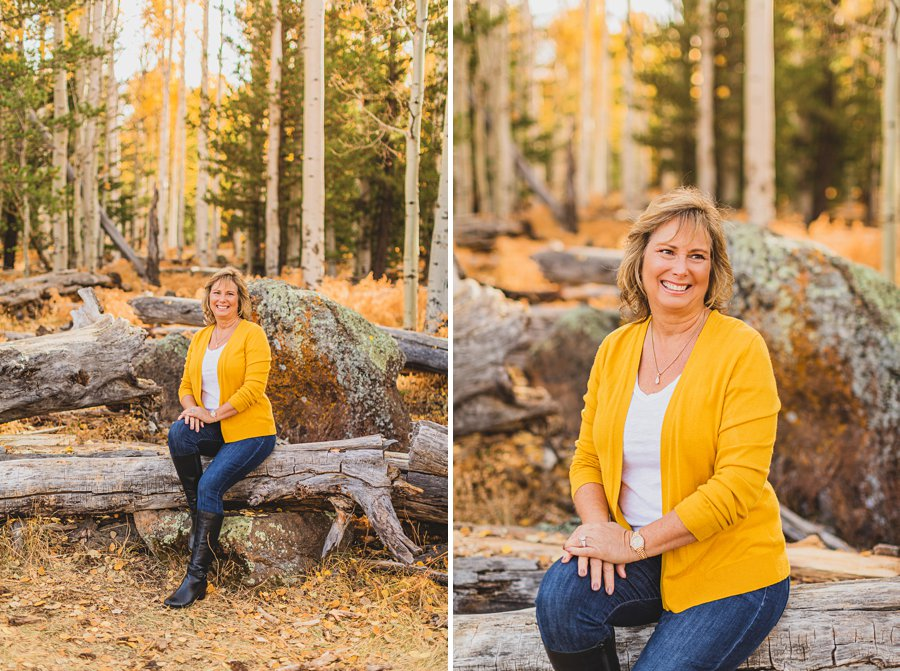 Barrett Family: Aspens Flagstaff Portrait Photographers snowbowl