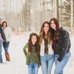 Ehler Family: Flagstaff Snow Family Photographers