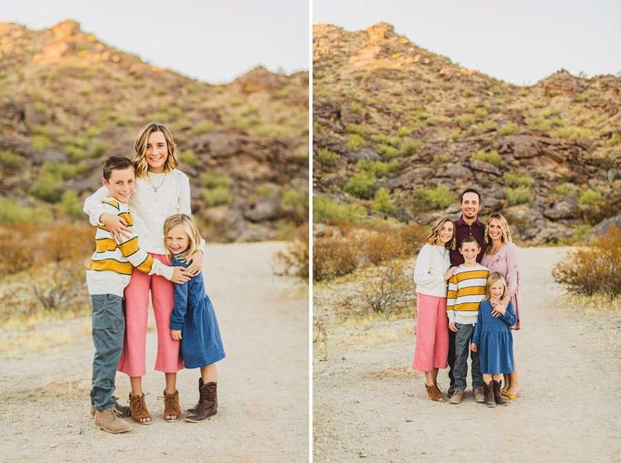 Martin Family: Arizona Family Photographers hugs and love