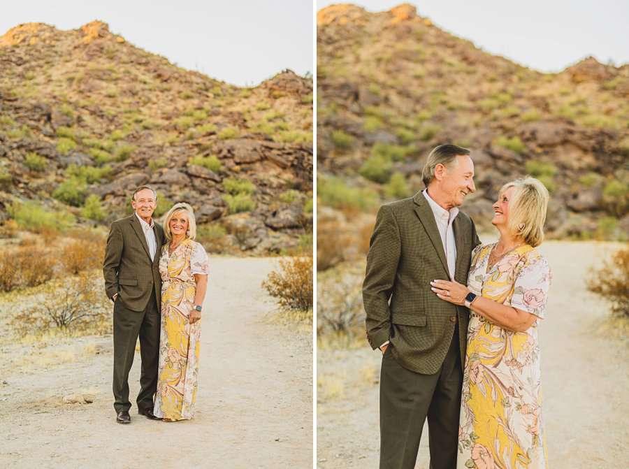 Martin Family: Phoenix Portrait Photography grandparents