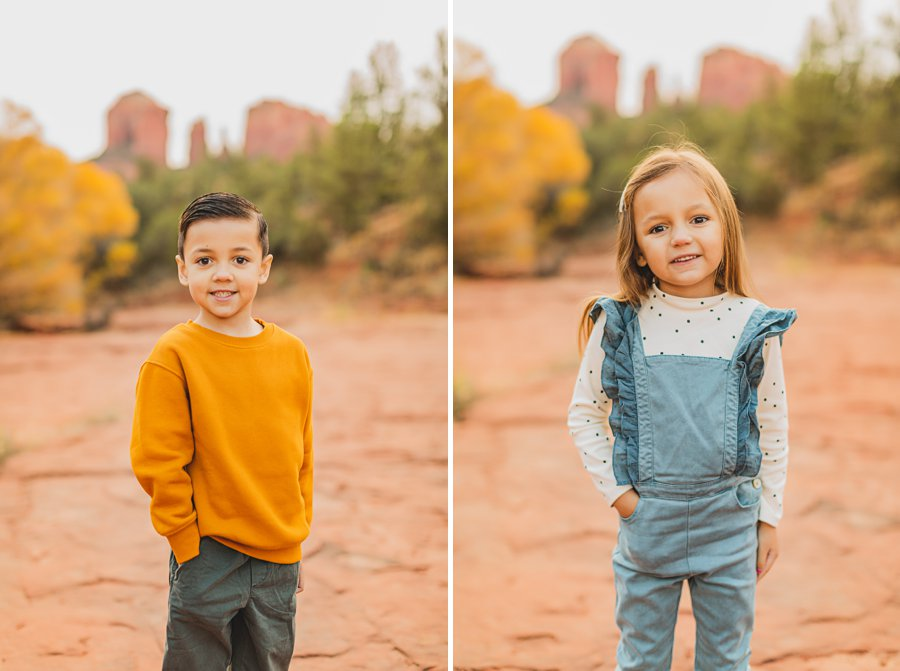 Serrano Family: Red Rock Crossing Portraits sedona landscape