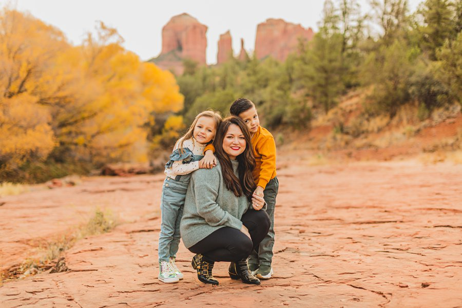 Serrano Family: Red Rock Crossing Portraits best places to explore