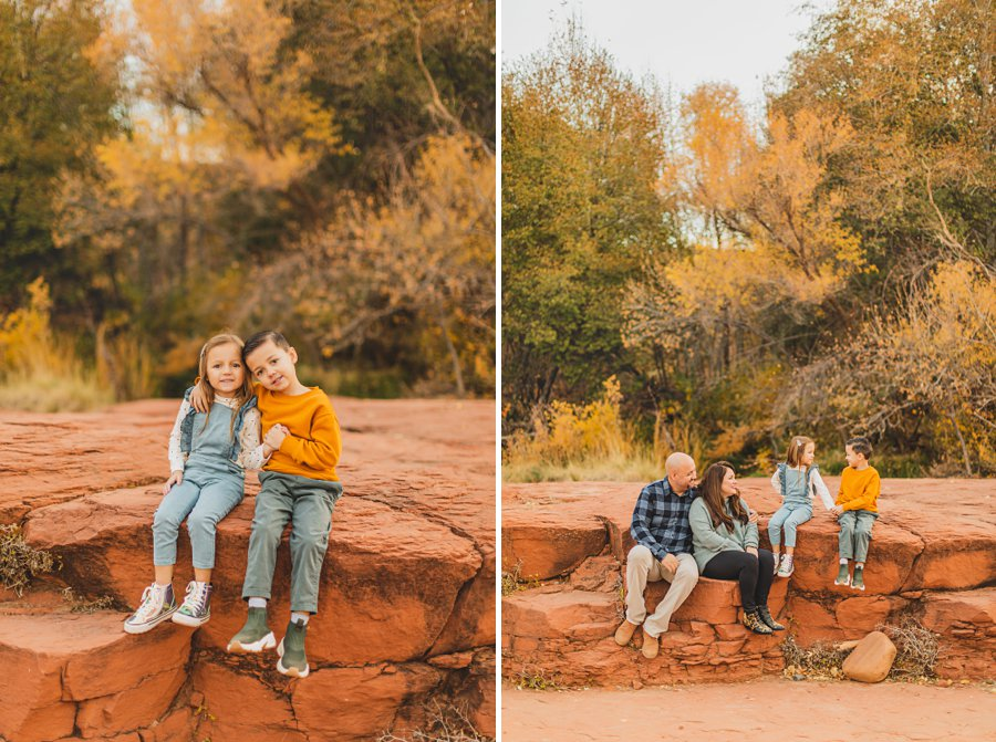 Serrano Family: Sedona Arizona Photography red rock crossing