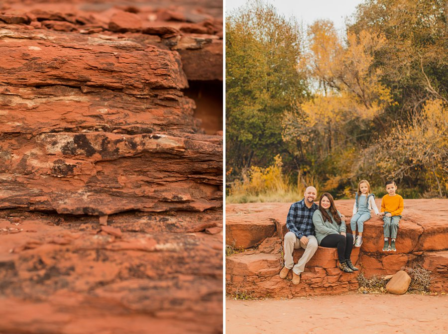 Serrano Family: Sedona Arizona Photography red rocks