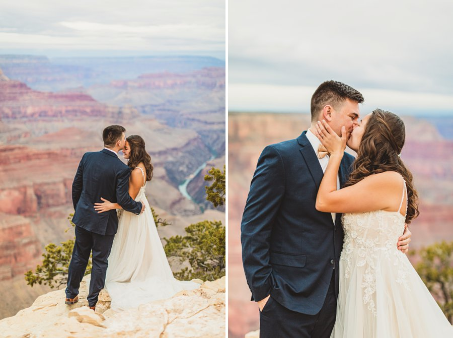 Ashlynn and Jacob: Elopement Photographers Grand Canyon in love
