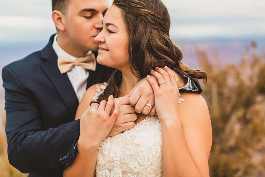Ashlynn and Jacob: Elopement Photographers Grand Canyon wedding ring details