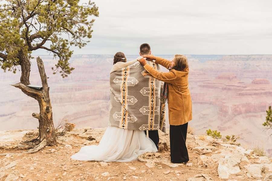 GC National Park Wedding: Ashlynn and Jacob pima