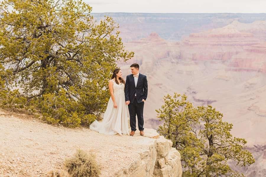 GC National Park Wedding: Ashlynn and Jacob adventure and vow