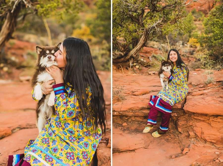 Grace: Northern Arizona Senior Photography national parks