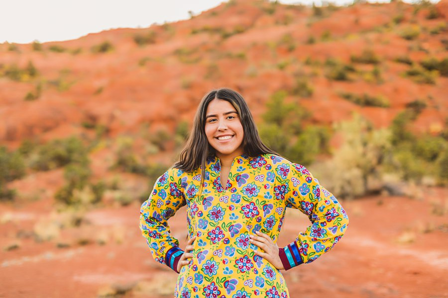 Grace: Sedona Portrait Photographers AZ smiling