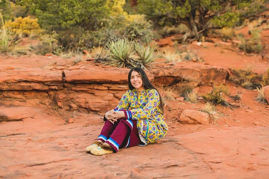 Grace: Northern Arizona Senior Photography state parks