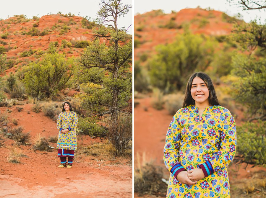 Grace: Northern Arizona Senior Photography young woman