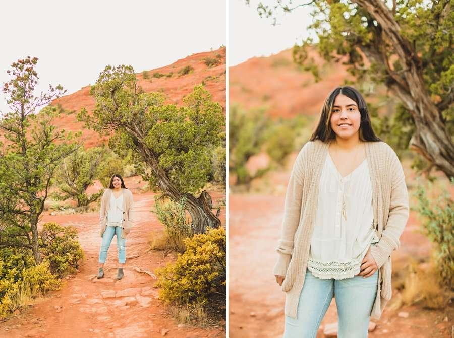 Grace: Northern Arizona Senior Photography love