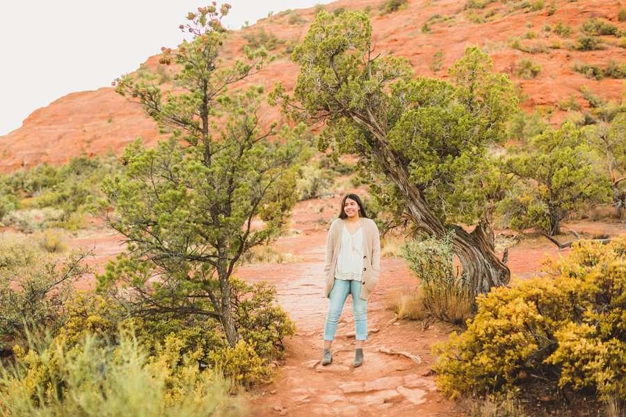 Grace: Northern Arizona Senior Photography high school
