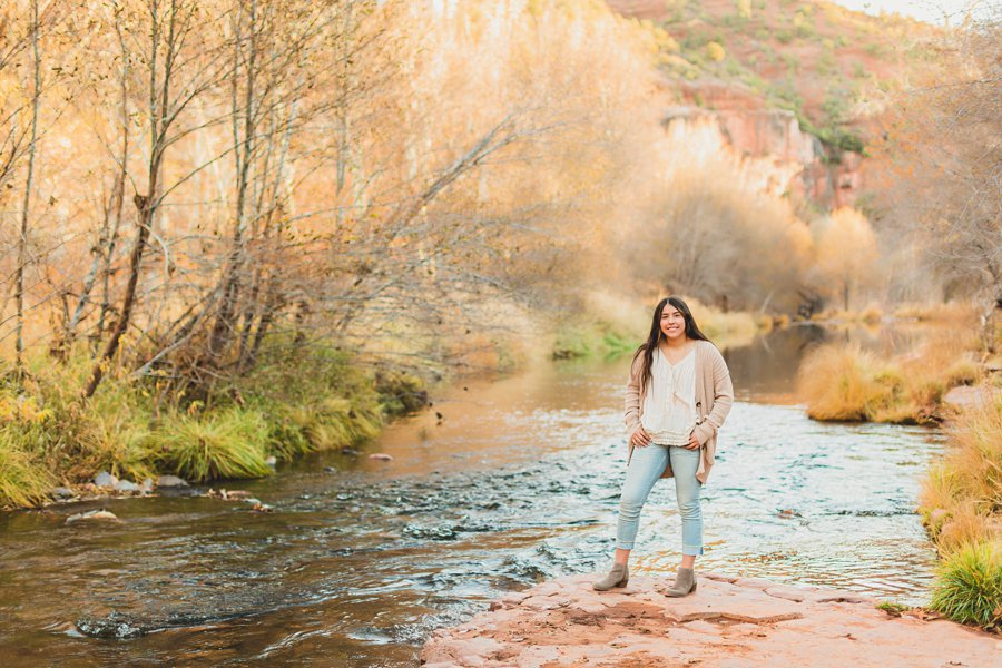 Grace: Northern Arizona Senior Photography high school young woman