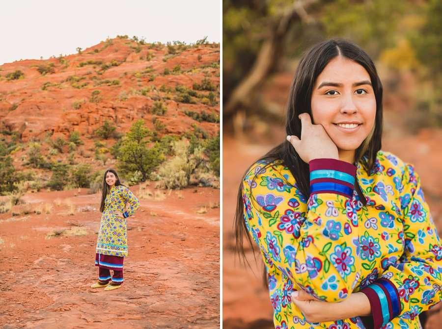 Grace: Sedona Portrait Photographers AZ poses