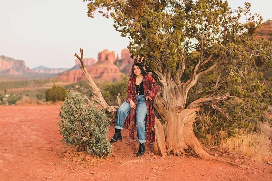 Grace: Sedona Portrait Photographers AZ lovers knoll