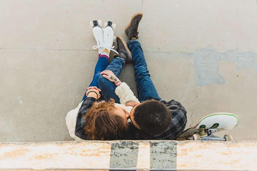 Katie and Adam: Sedona Couples Photographer in love
