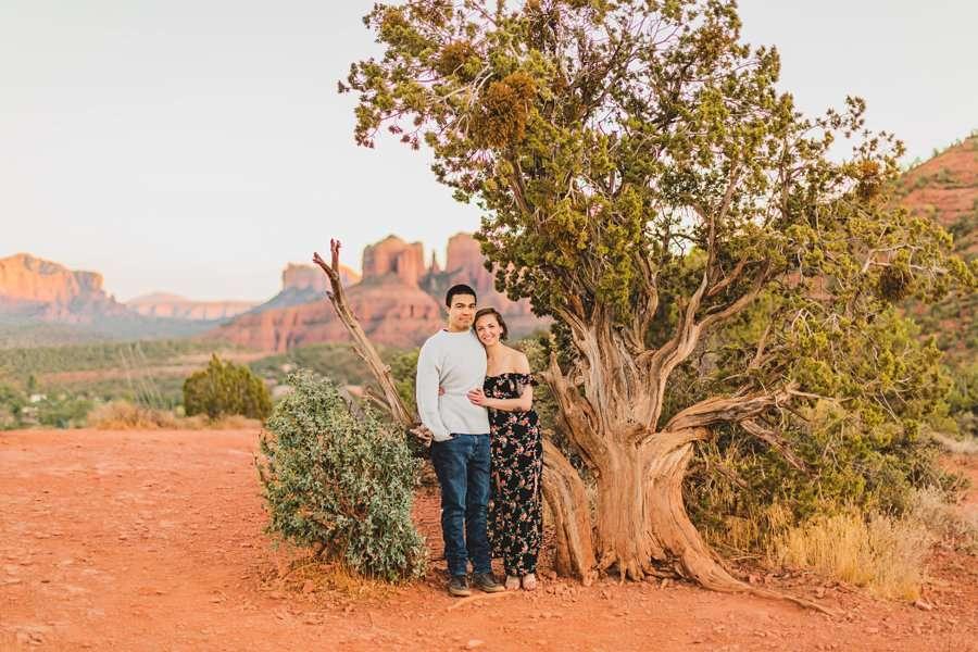 Katie and Adam: AZ Engagement Photography Sessions best portraits