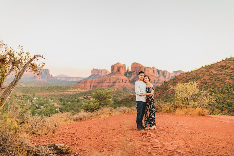 Katie and Adam: AZ Engagement Photography Sessions lovers knoll
