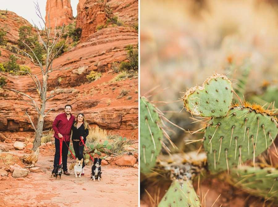 Samantha and Kevin: Sedona Arizona Portrait Photographers details