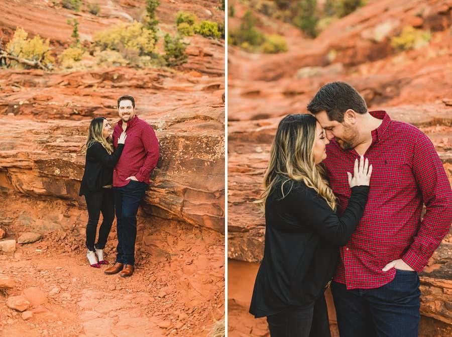 Samantha and Kevin: Sedona Arizona Portrait Photographers couples portraits