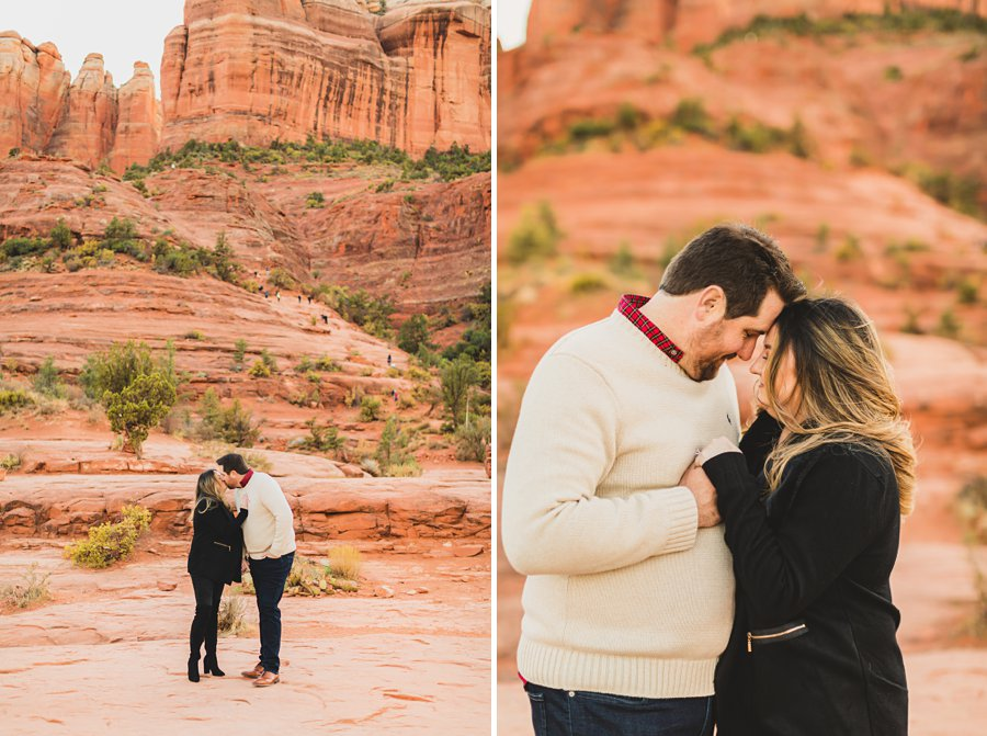 Samantha and Kevin: Cathedral Rock Sedona Engagement best locations in the state