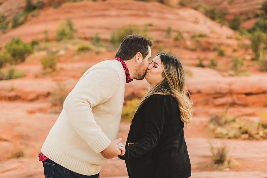 Samantha and Kevin: Sedona Arizona Portrait Photographers best in az