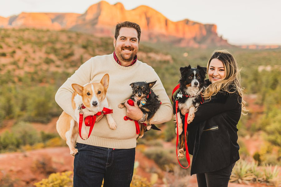 Samantha and Kevin: Sedona Arizona Portrait Photographers family portraits