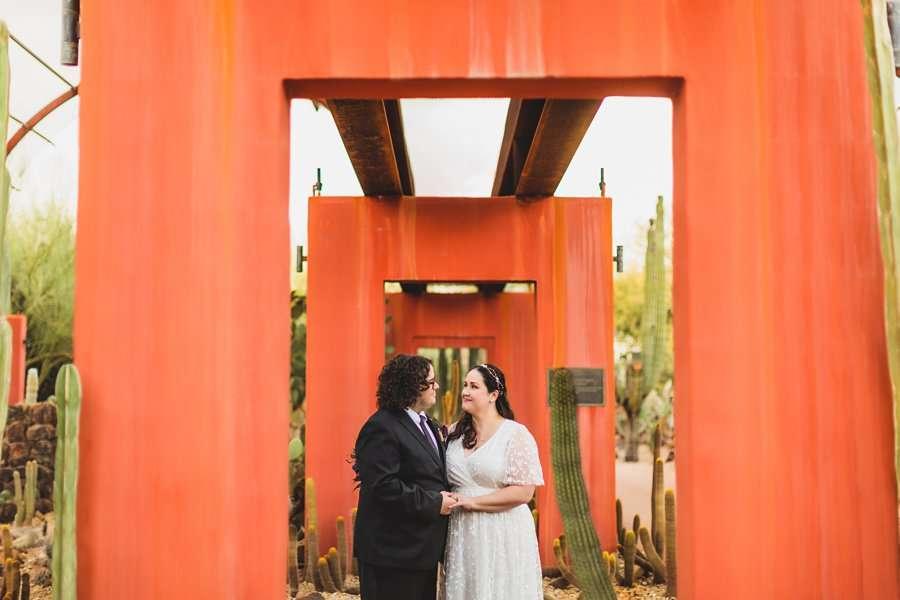 Shawna and Jason: Phoenix Arizona Wedding Photographers red arches