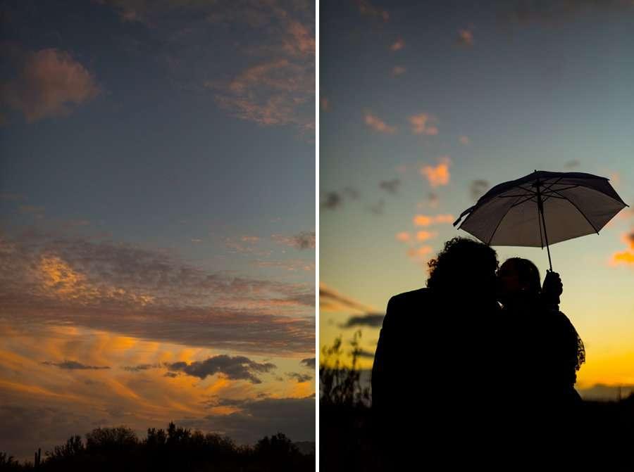 Shawna and Jason: Phoenix Arizona Wedding Photographers sunset