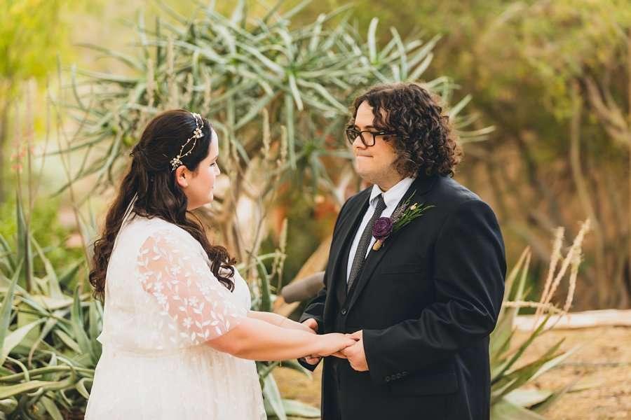 Shawna and Jason: Desert Botanical Garden Elopement phoenix elopement locations